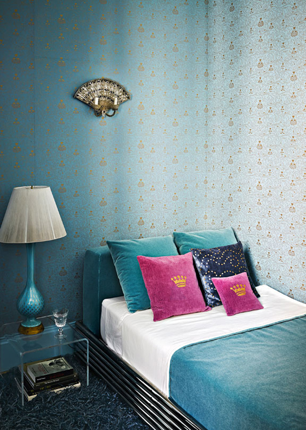 Turquoise On The Upper East Side Interiors By Color