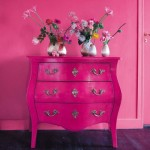 Pink and Pink Cabinet