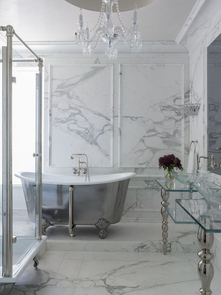 Marble On The Walls And Floors Interiors By Color