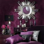 Living Room Purple Glam