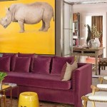 Eclectic Mauve and Yellow