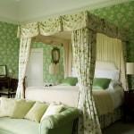 Irish Country Green Bedroom