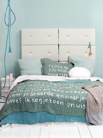handpainted bedding