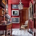 John Yunis' Red Glazed Walls