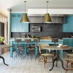 Flay's Turquoise Kitchen