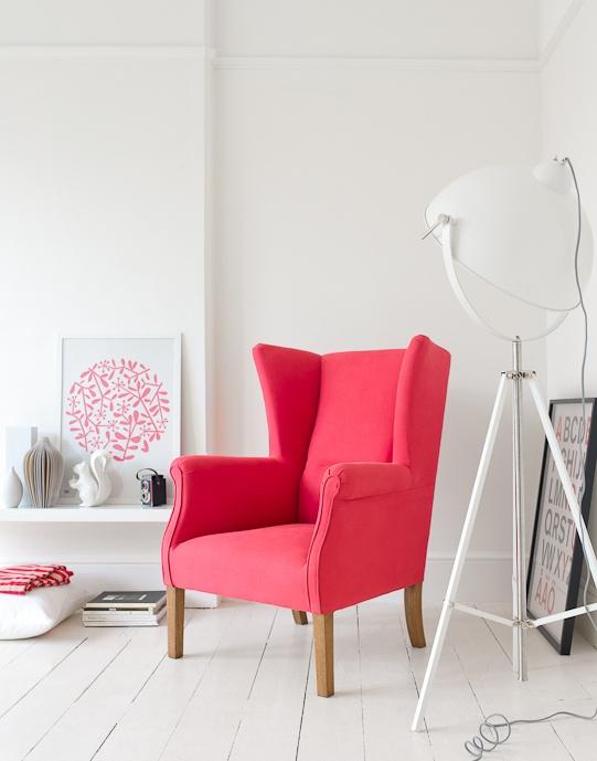 Glamorous Kitchen Cabinets Red Walls White