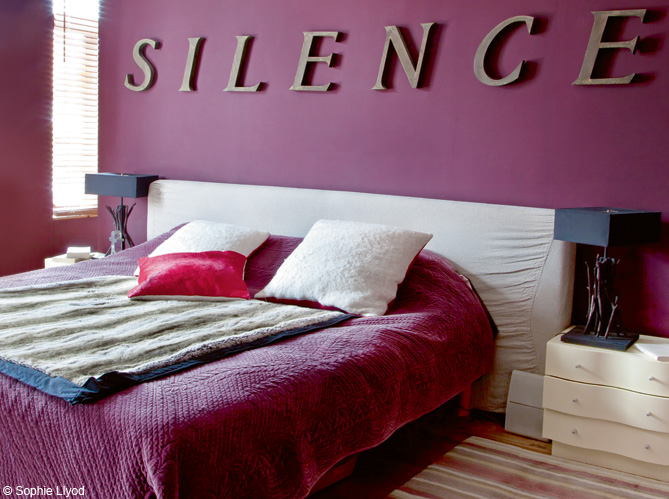 Silence In The Bedroom Interiors By Color