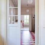 Red and White Checkered Floors