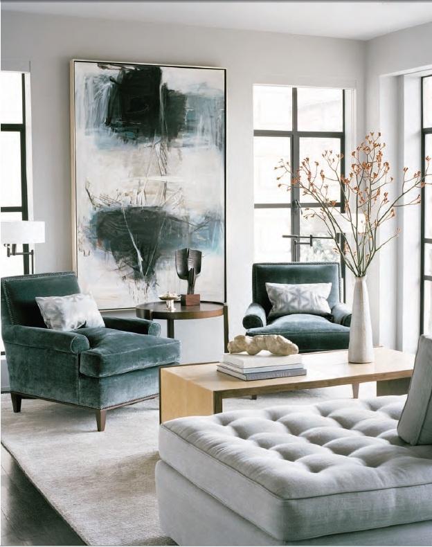 living room interior grey colors