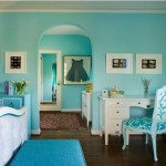 Intense Turquoise Bedroom