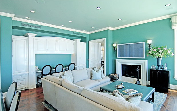 Turquoise Living Room. Grey And Turquoise Bedroom Beautiful Brown ...