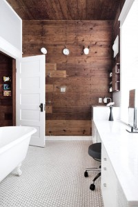 Floorboards on the Wall