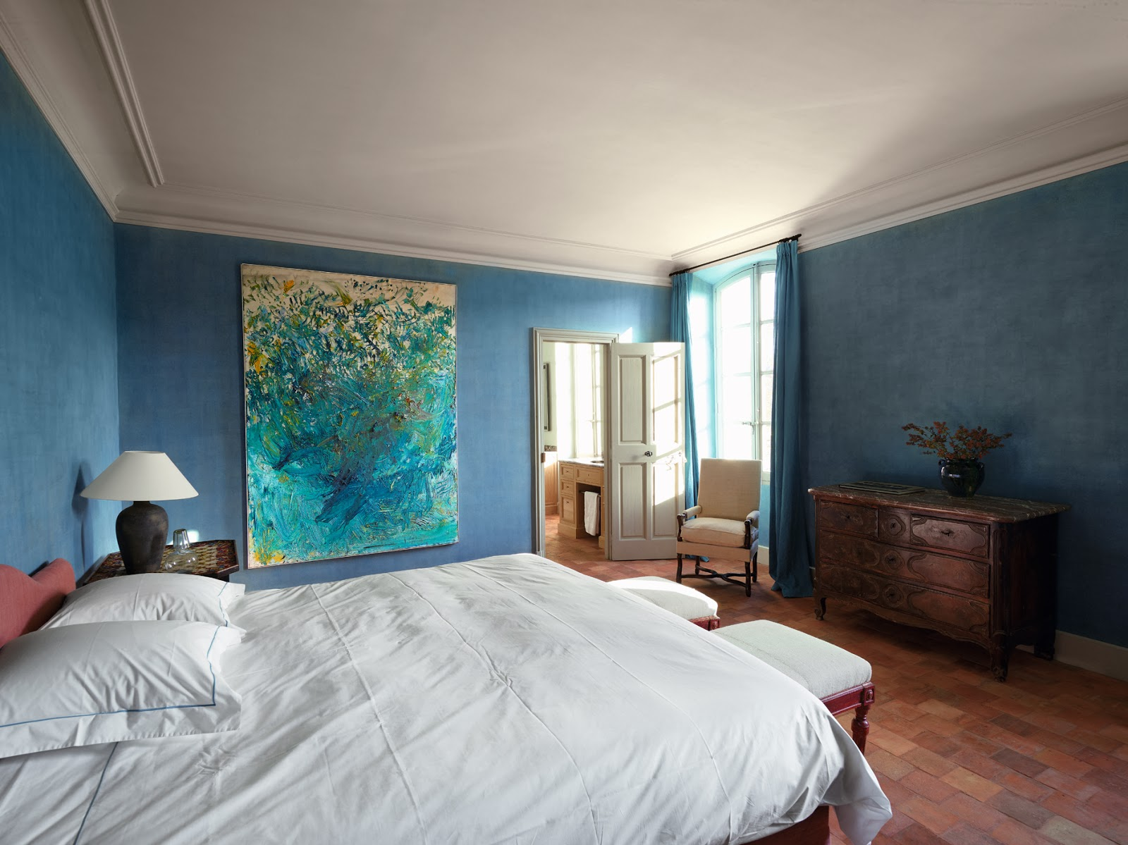 tranquil colors for bedrooms tranquil blue bedroom interiors by color 17569