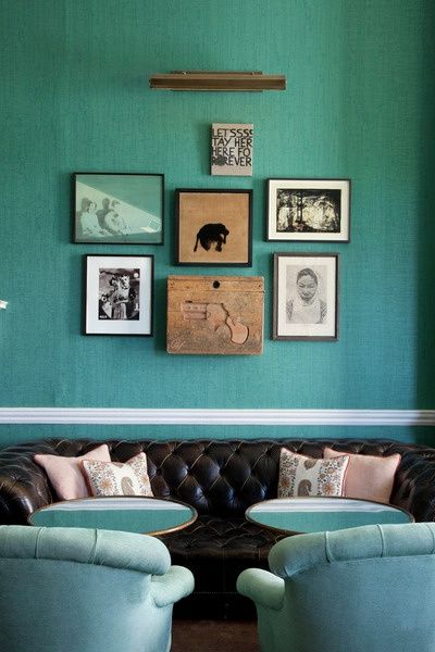 Connect The Colors >> Babington House Teal - Interiors By Color