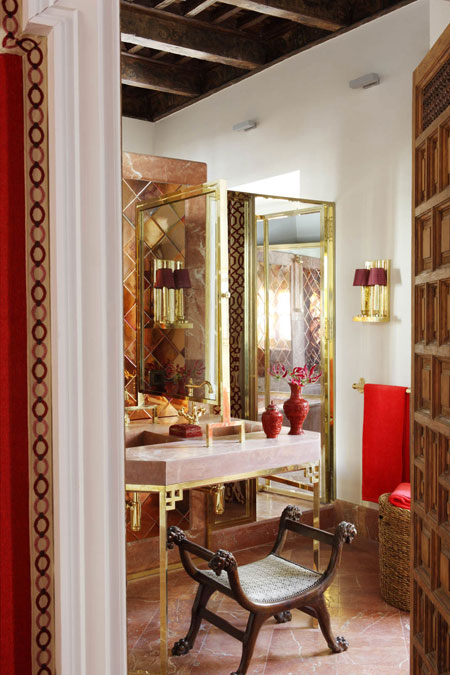 Red Master Bedroom Interiors By Color