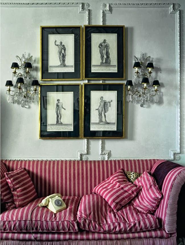 Manolo Blahnik's living space