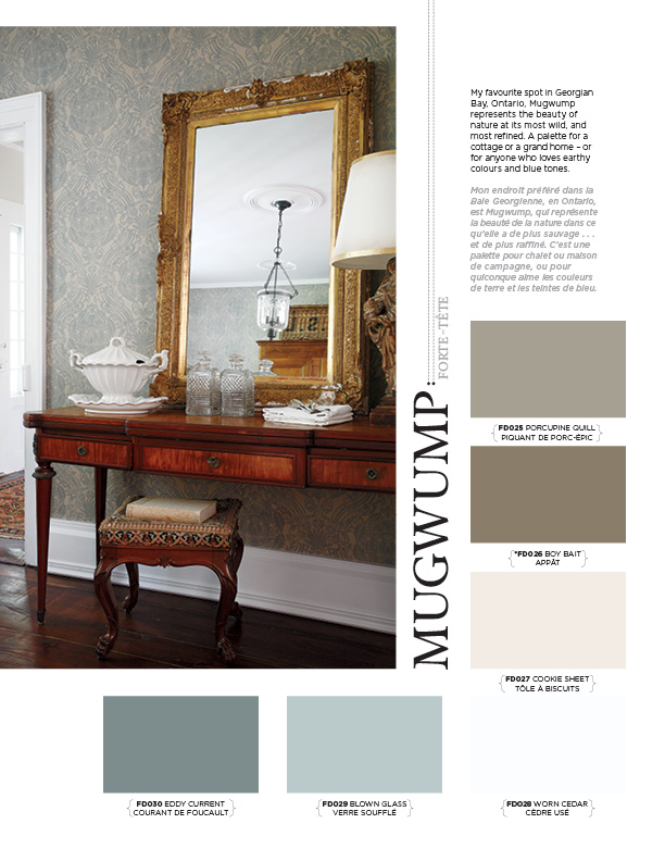 Mugwump Palette Interiors By Color