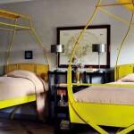 Twin Antique Scissor Beds