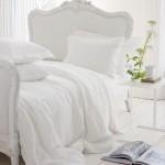Biella Ivory - Natural White Linen Bed Linen