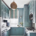 Opaque Turquoise Kitchen