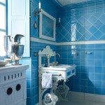 French Blue Bathroom