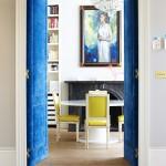 Blue Velvet Walls