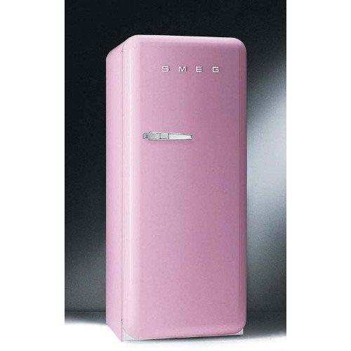 Pink smeg fridge interiors by color