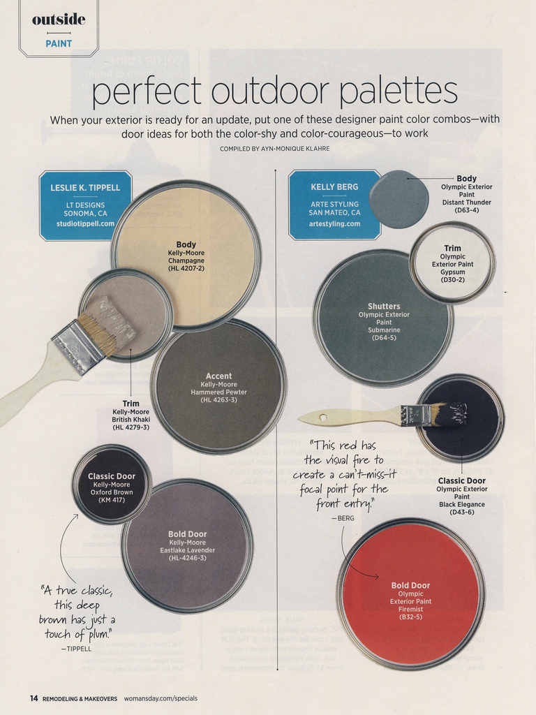 Perfect Outdoor Paint Palette