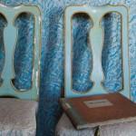 Fortuny Blue Damask