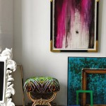 French Accents ~ Hot Pink and Turquoise