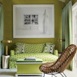 Yellowish Green Living Room
