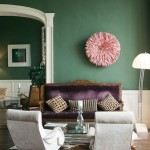 Green, Pink and Purple Living Room