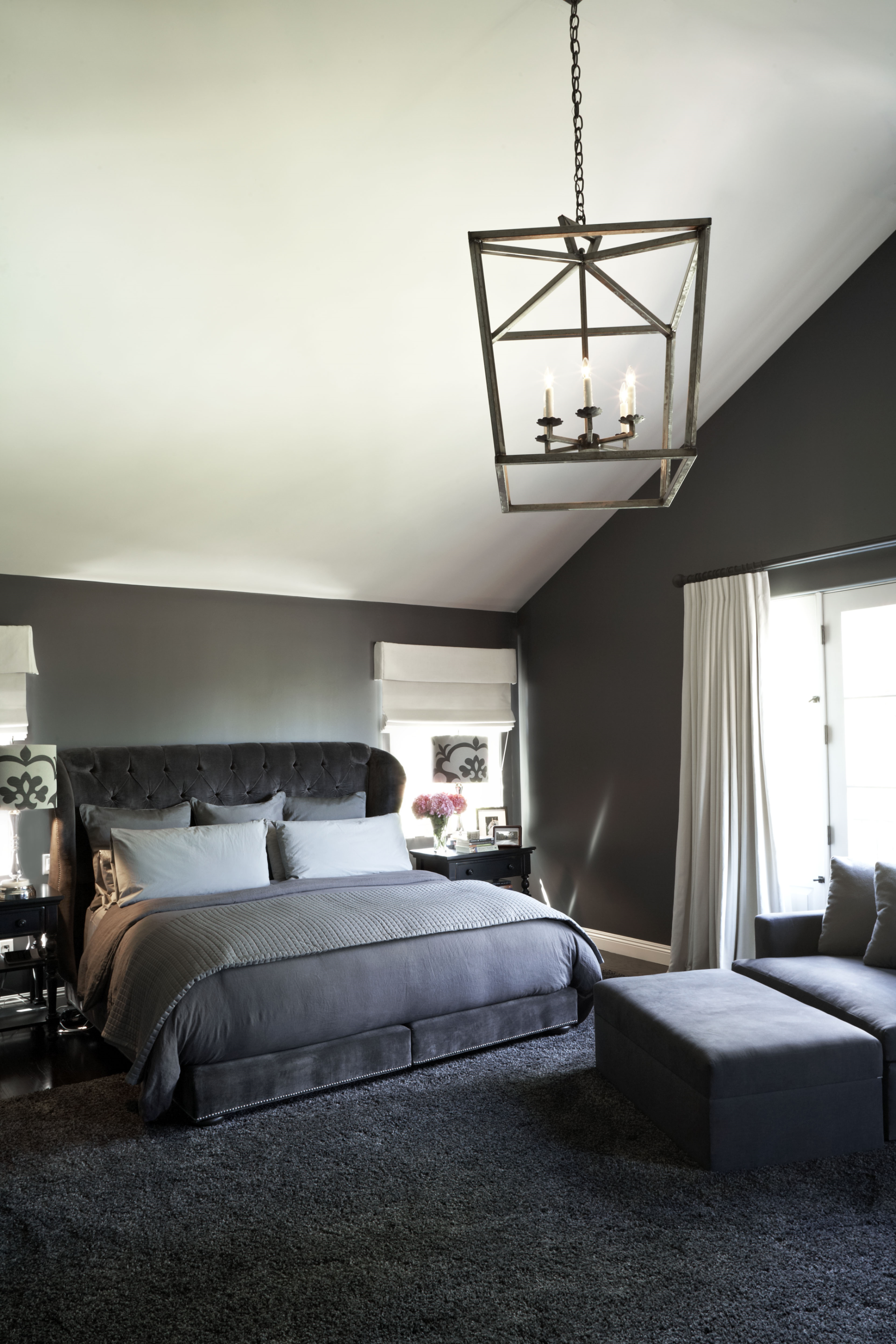 Monochromatic Palette Modern Bedroom Interiors By Color