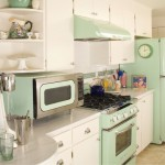 Retro Mint Kitchen