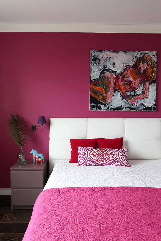 fuschia pink bedroom pink in the bedroom interiors by color 11630