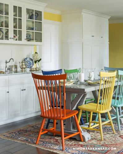 kitchen chairs painted different colors 6 hues interiors by color 8210