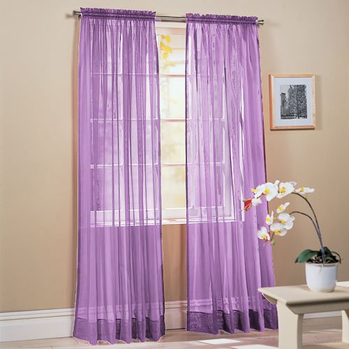 lavender curtains