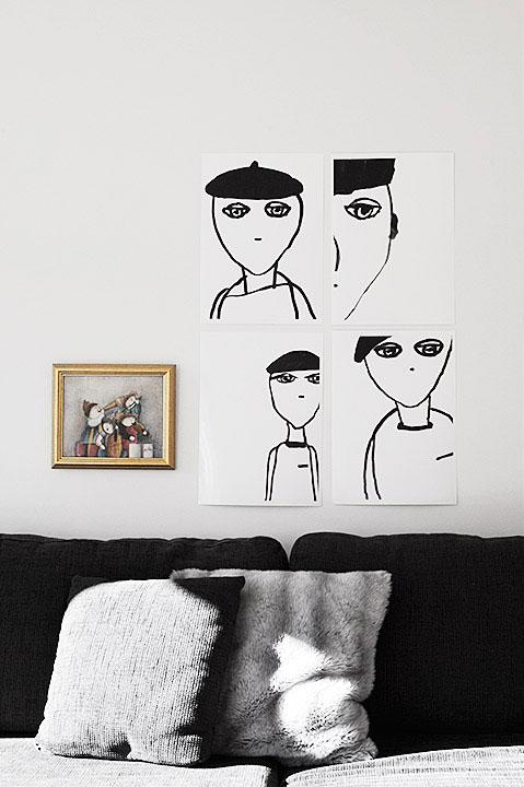 living-art-illustration
