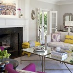 Pops of Fuchsia and Yellow