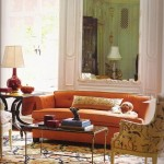 Italianate Orange Sofa