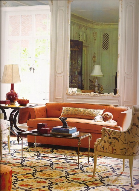 living-room-orange-sofa