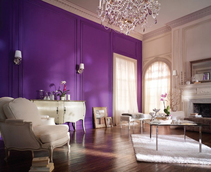 Glorious Purple Wall