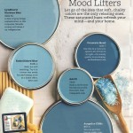 Mood Lifters Blue Paint Color