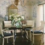 Southern Dining in Blue and White