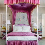 Romantic Pink Bed