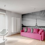 Modern Living in Pink and Grey