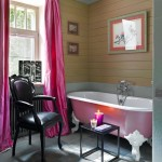 Pink Clawfoot Tub