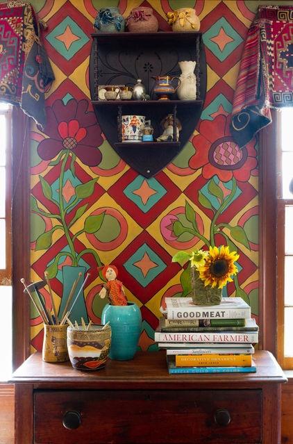 psychedelic foyer