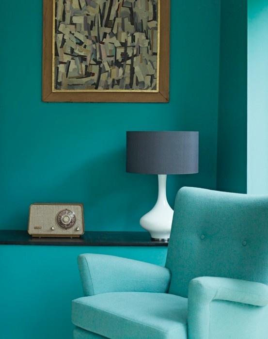 retro turquoise