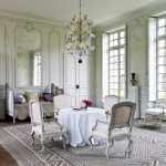 French Style Dining in White